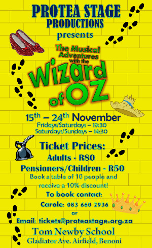 The Musical Adventures With The Wizard of Oz